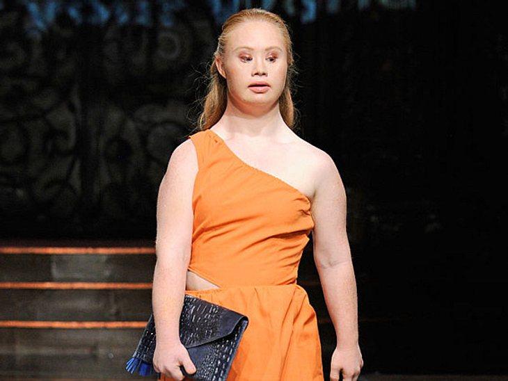 Madeleine Stuart startet als Model mit Downsyndrom durch.
