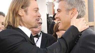 Brad Pitt: Jetzt setzt er auf George Clooney