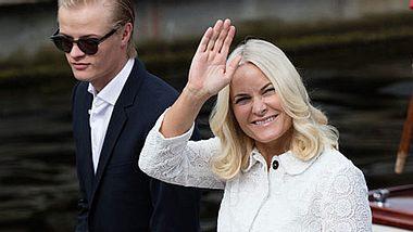 Mette-Marit von Norwegen sorgt sich um Sohn Marius.  - Foto: Ragnar Singsaas/Getty Images