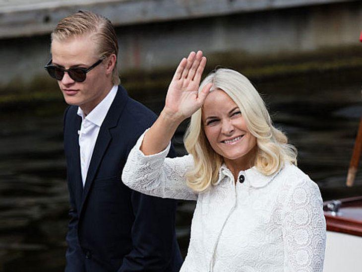 Mette-Marit von Norwegen sorgt sich um Sohn Marius.