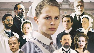 Die Darsteller der ARD-Serie Charité sind keine Unbekannten: Doch in welchen Rollen haben wir sie schon mal gesehen? - Foto: ARD / Nik Konietzny / Montage dinjank