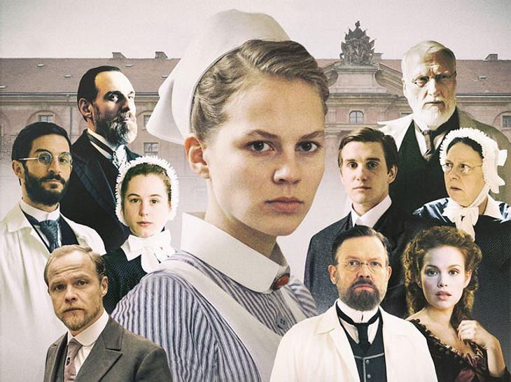Die Darsteller der ARD-Serie Charité sind keine Unbekannten: Doch in welchen Rollen haben wir sie schon mal gesehen?