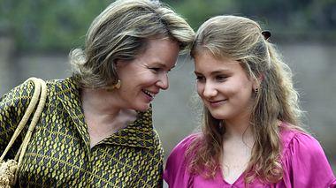 Königin Mathilde: Ihre Tochter geht zum Militär