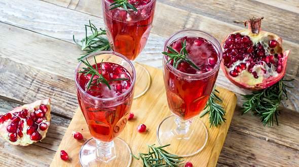 Aperitif zu Weihnachten: Rezepte mit und ohne Alkohol