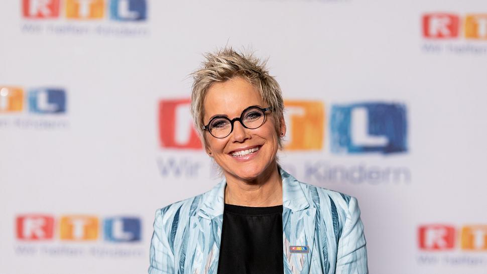 Inka Bause beim RTL-Spendenmarathon. - Foto: Joshua Sammer / Getty Images