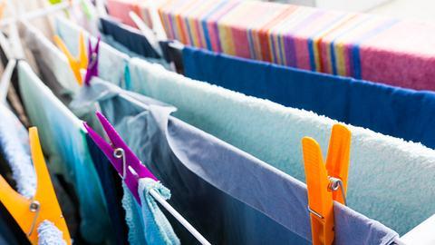 Ausziehbare Wäscheständer - Foto: iStock/ meyrass