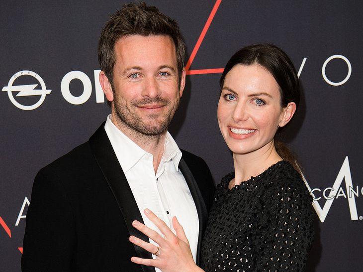 Schauspieler Jan Hartmann und seine Frau Julia werden wieder Eltern.