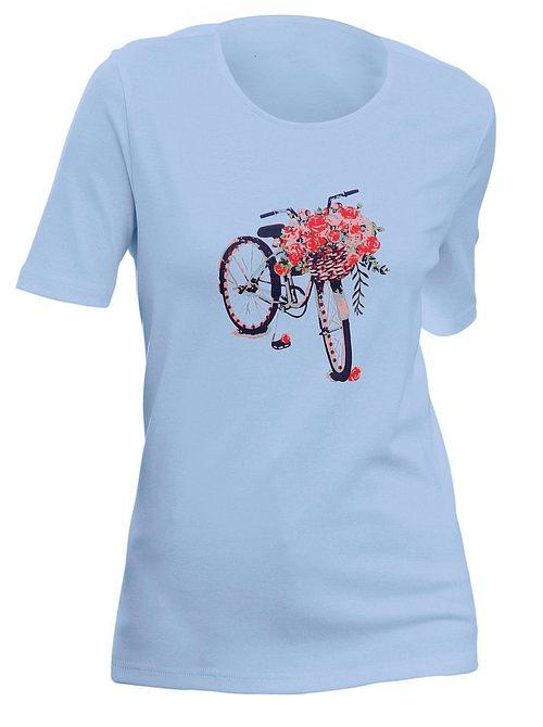 Classics Basic Print-Shirt