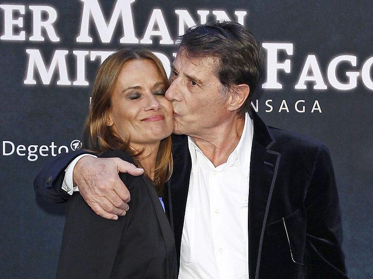Schauspielerin Jenny Jürgens und ihr Vater Udo Jürgens im Jahr 2011.