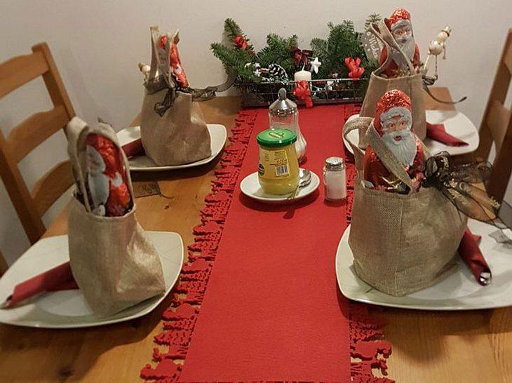 So liebevoll wurden die Tische dekoriert