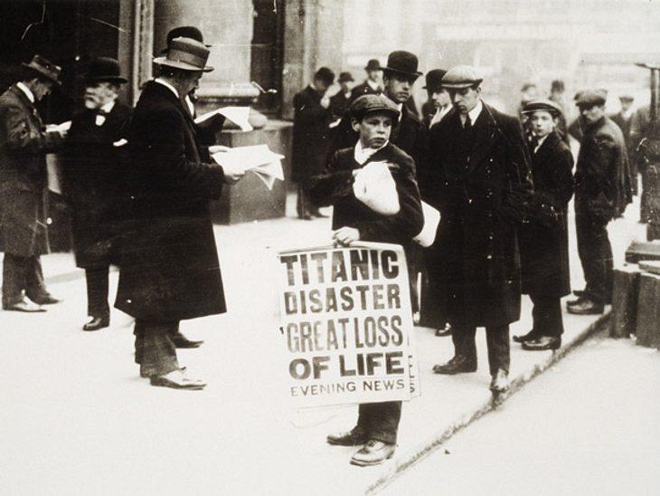 Jahrestag Titanic Untergang