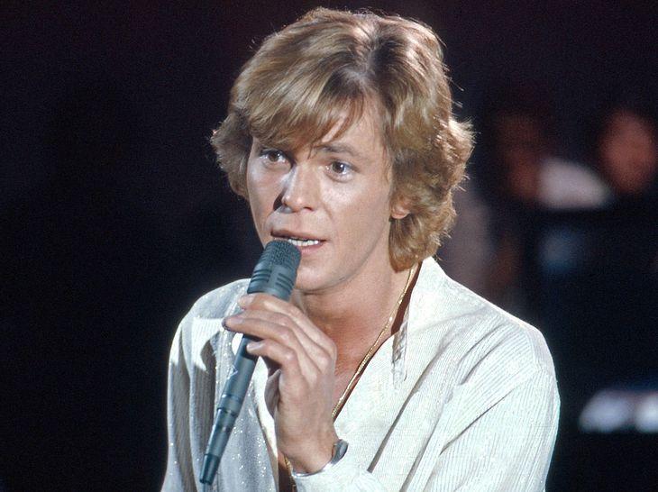 Sänger Jürgen Marcus bei einem TV-Auftritt.