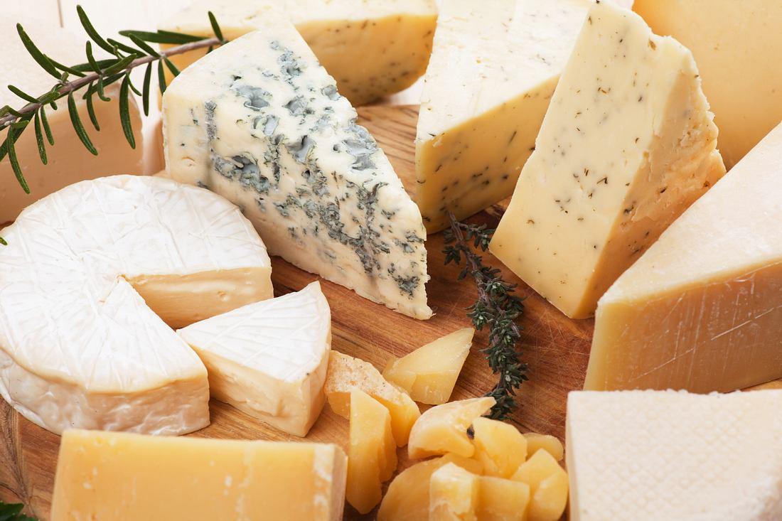 Käse einfrieren.