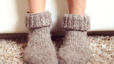 So wärmen Sie kalte Füße richtig