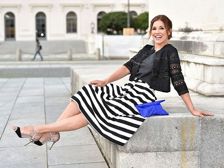 Moderatorin Karen Webb