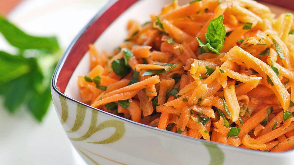 Karottensalat mal anders
