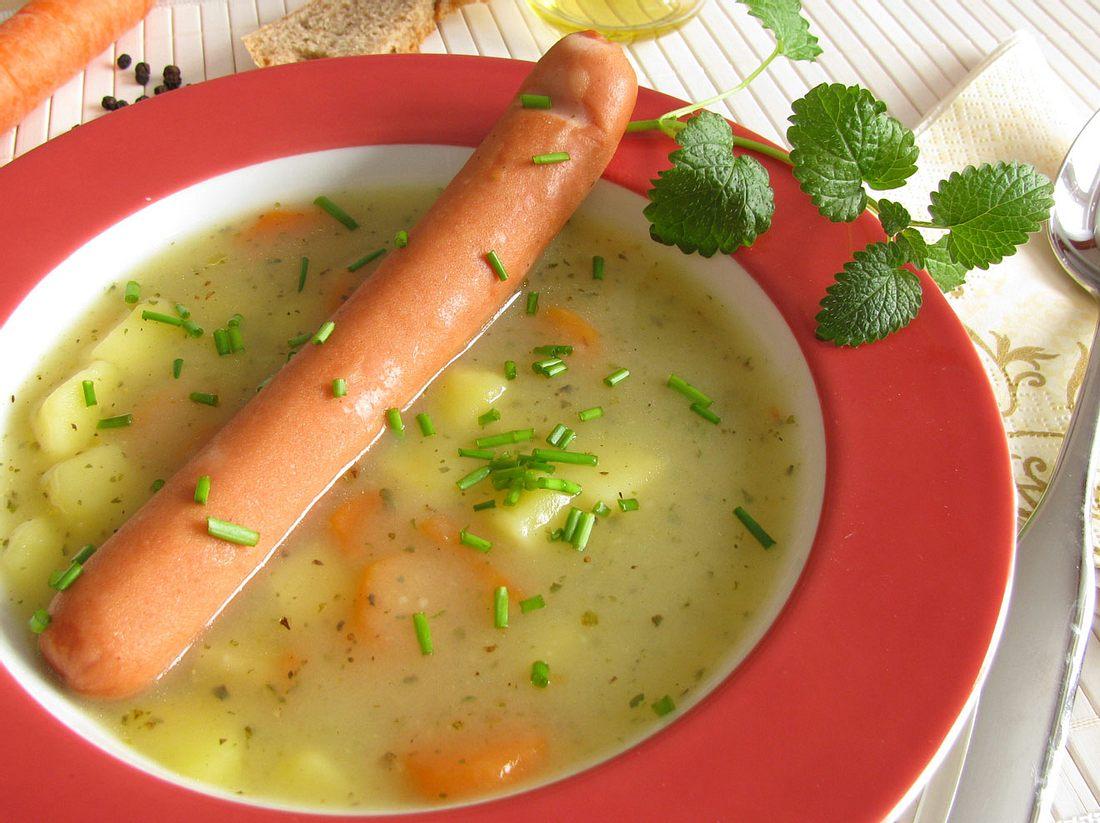 Rezeot für Kartoffelsuppe: 7 Varianten