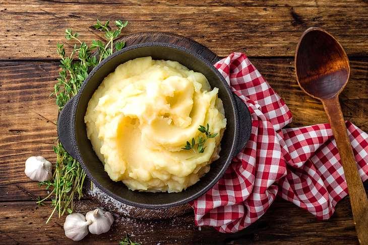 So machen Sie perfektes Kartoffelpüree.