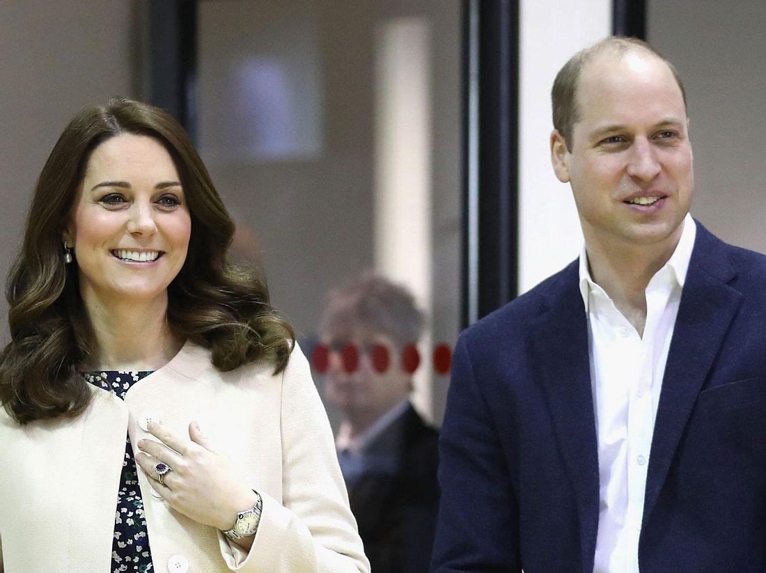 Kate und William sind zum dritten Mal Eltern geworden.
