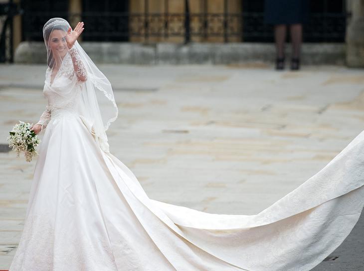 Das Brautkleid von Kate Middleton | Victoria, Kate Middleton & Co: