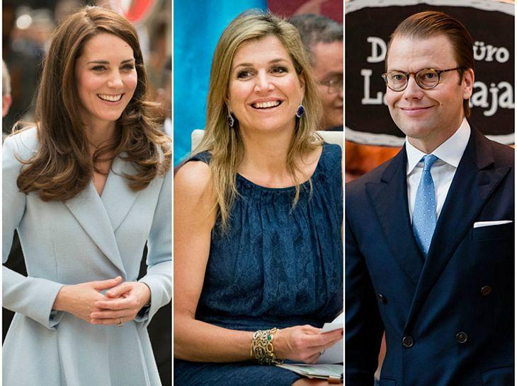 Kate Middleton, Máxima der Niederlande & Co: Die (Ex)-Berufe der Royals