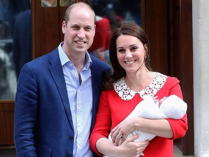 Prinz William und Herzogin Kate haben mittlerweile drei Kinder.