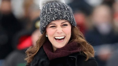 Kate Middleton: Diskussionen um ihre Bommelmütze - Foto: Chris Jackson/Getty Images