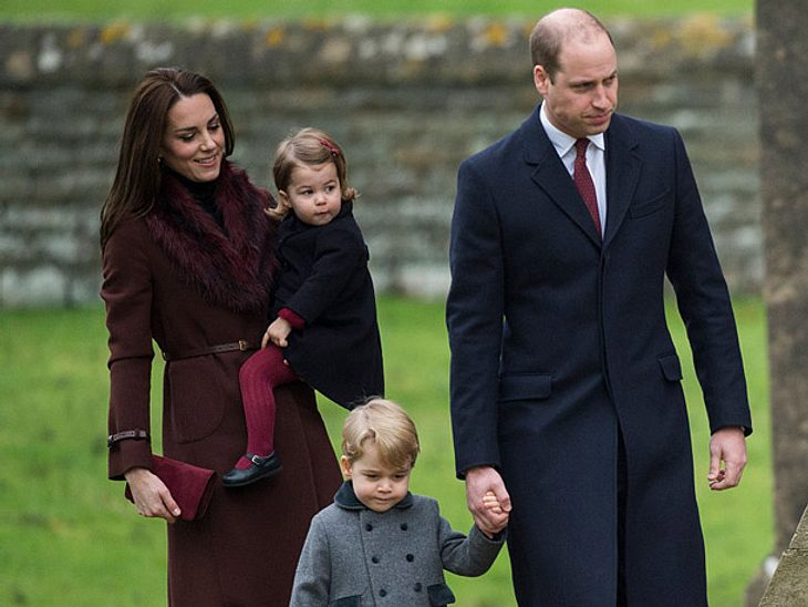 Kate Middleton, Prinz William und ihre Kinder ziehen nach London.