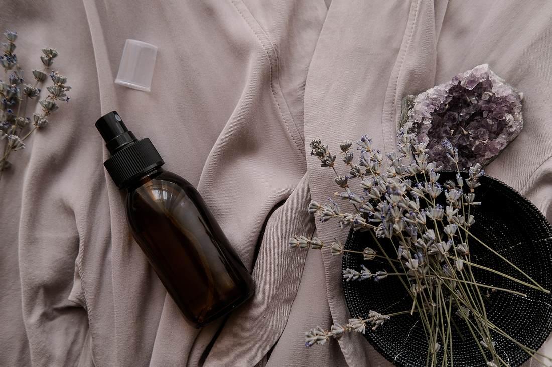 Kissenspray aus Lavendel
