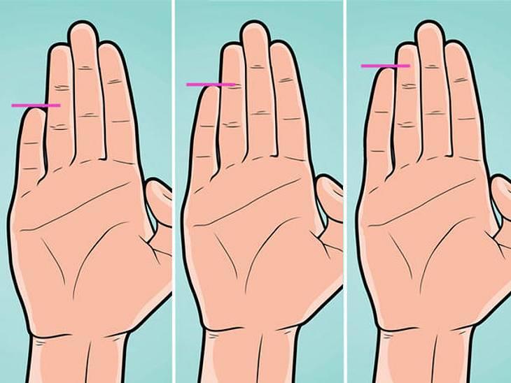 Wie Ihr kleiner Finger aussieht sagt einiges über Ihre Persönlichkeit aus.