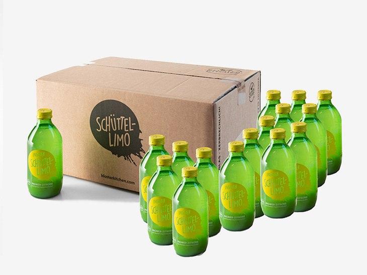 Gewinnen Sie 20 Flaschen Schüttel-Limo.