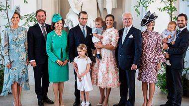 König Carl Gustaf XVI und seine Kinder