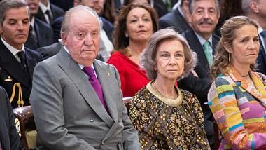 Ex-König Juan Carlos und Ex-Königin Sofia. - Foto: GettyImages/ Paolo Blocco