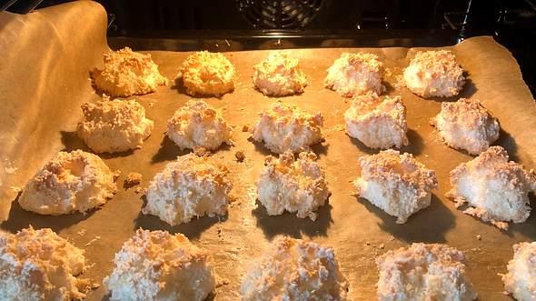 Kokosmakronen selber backen: Das Rezept