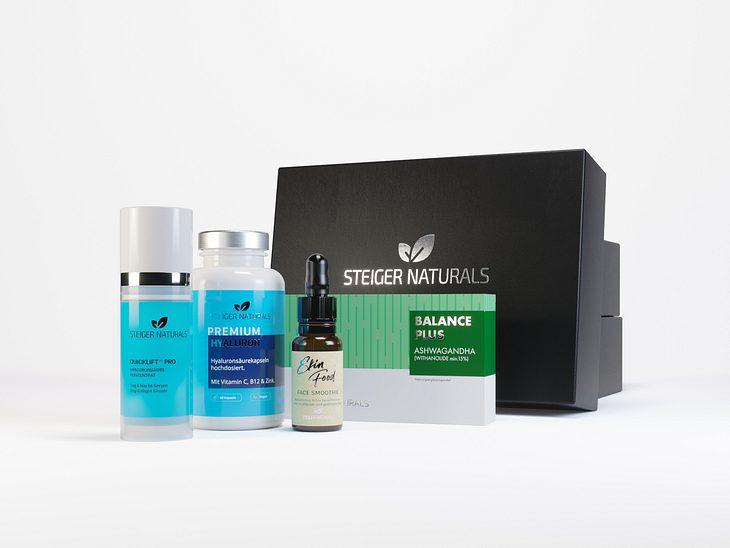 Natürliche Schönheit - in der Happy Aging Box finden Sie alles, was Sie dafür brauchen