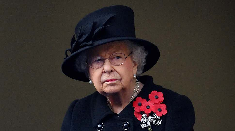 Königin Elizabeth  II. am britischen Remember Day 2020. - Foto:  Pool/Max Mumby/GettyImages