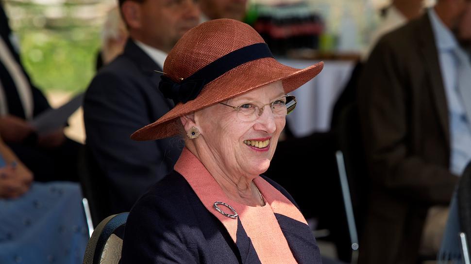 Königin Margrethe bei der Eröffnung der Wikinger-Spiele im Juni 2020. - Foto:  Ole Jensen/Getty Images