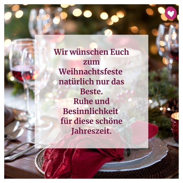 Wir wünschen Euch zum Weihnachtsfeste natürlich nur das Beste. Ruhe und Besinnlichkeit für diese schöne Jahreszeit.