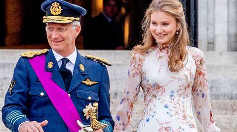 Die belgische Kronprinzessin feiert am 25. Oktober in Belgien ihre Volljährigkeit. - Foto: GettyImages/Patrick van Katwijk