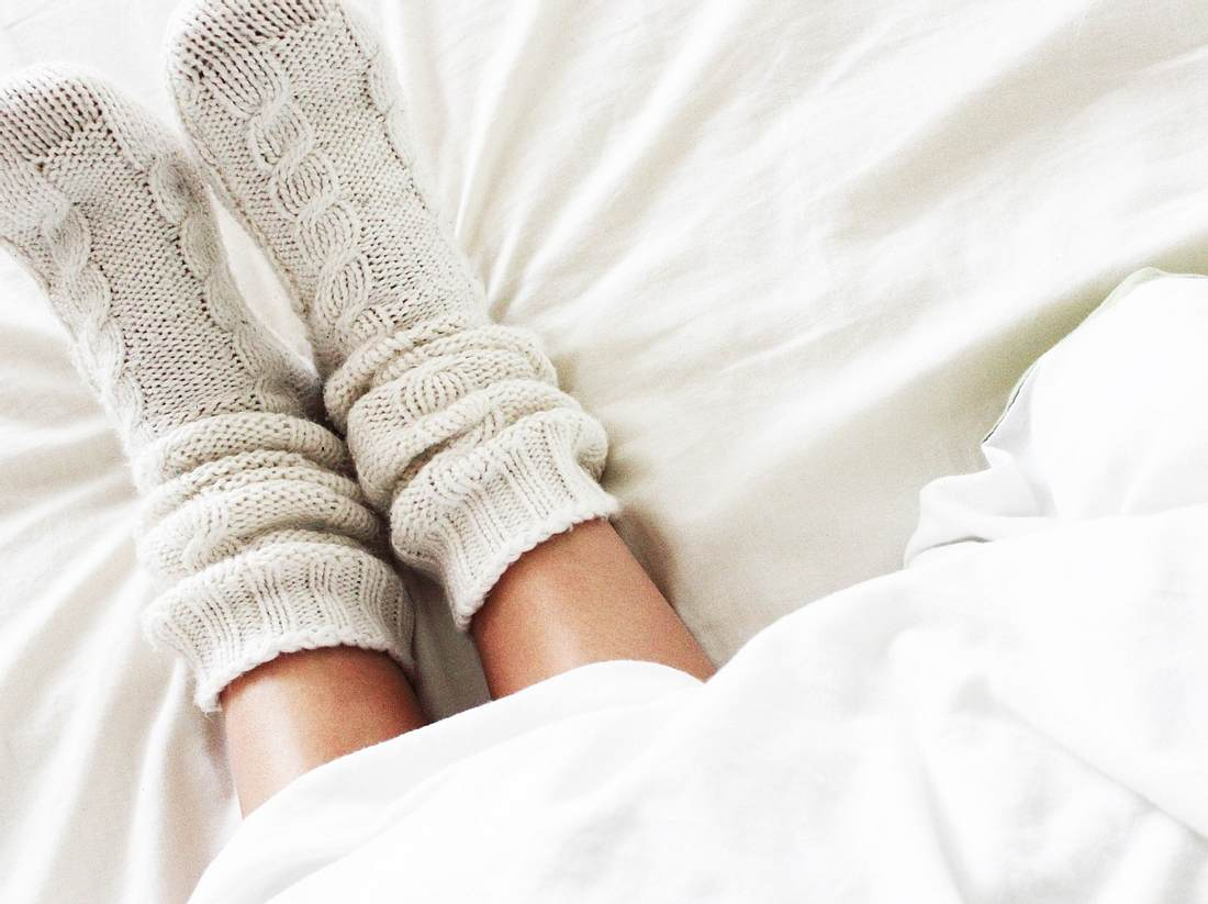 Nie mehr kalte Füße! 3 gute Gründe, warum Sie Kuschelsocken brauchen