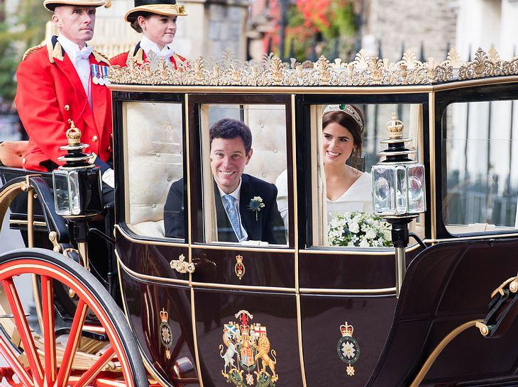 Hochzeit von Prinzessin Eugenie: Kutschfahrt