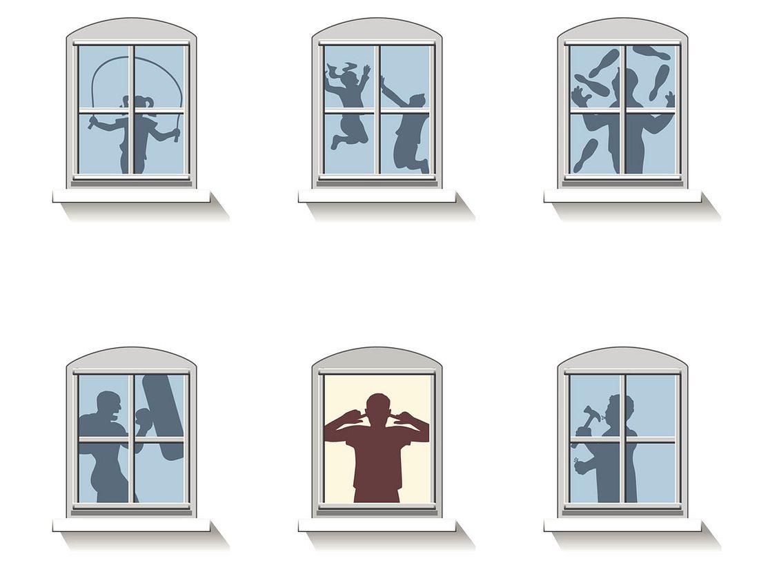 Lärm durch Schalldämmung an der Wand zum Nachbarn vermindern