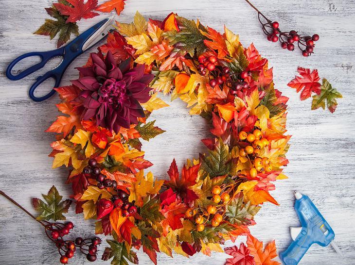 Herbstkranz Basteln 5 Schöne Ideen Für Ihre Tür