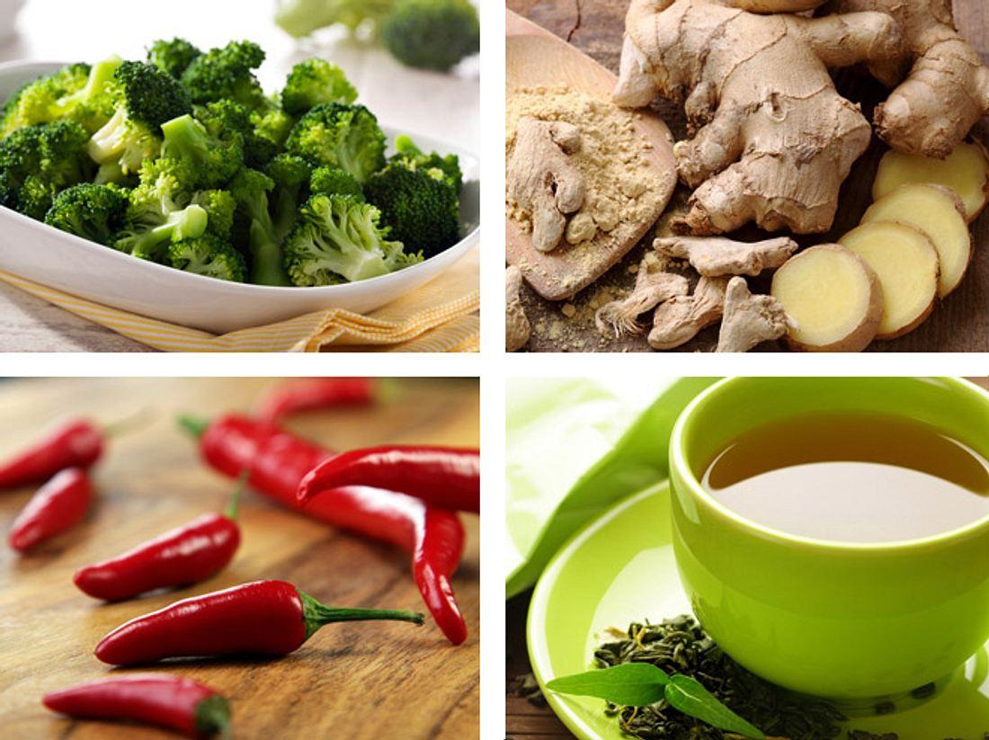 Stoffwechsel ankurbeln: Diese Lebensmittel helfen Ihnen.