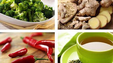 Stoffwechsel ankurbeln: Diese Lebensmittel helfen Ihnen. - Foto: eyewave / egal / Gubcio / KMNPhoto / iStock