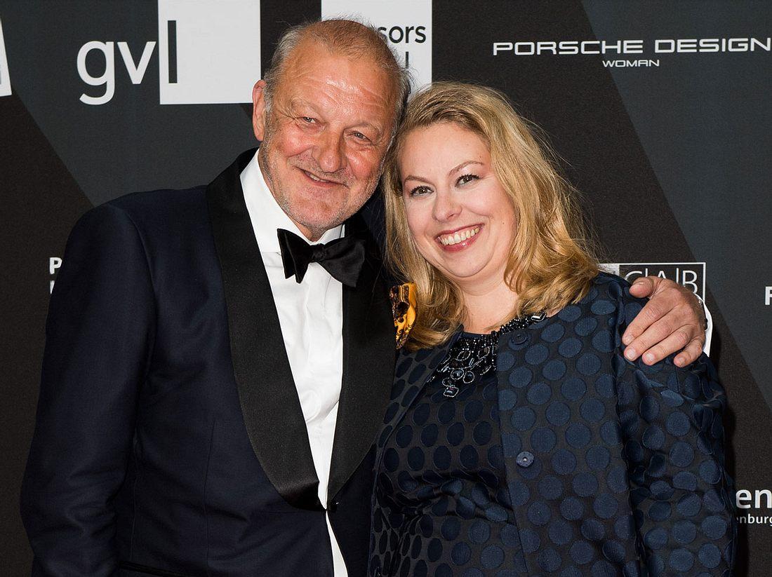 Leonard Lansink und seine Frau Maren Muntenbeck.