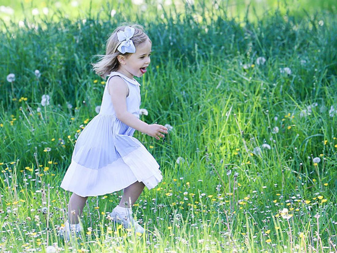 Leonore von Schweden feiert ihren 3. Geburtstag.