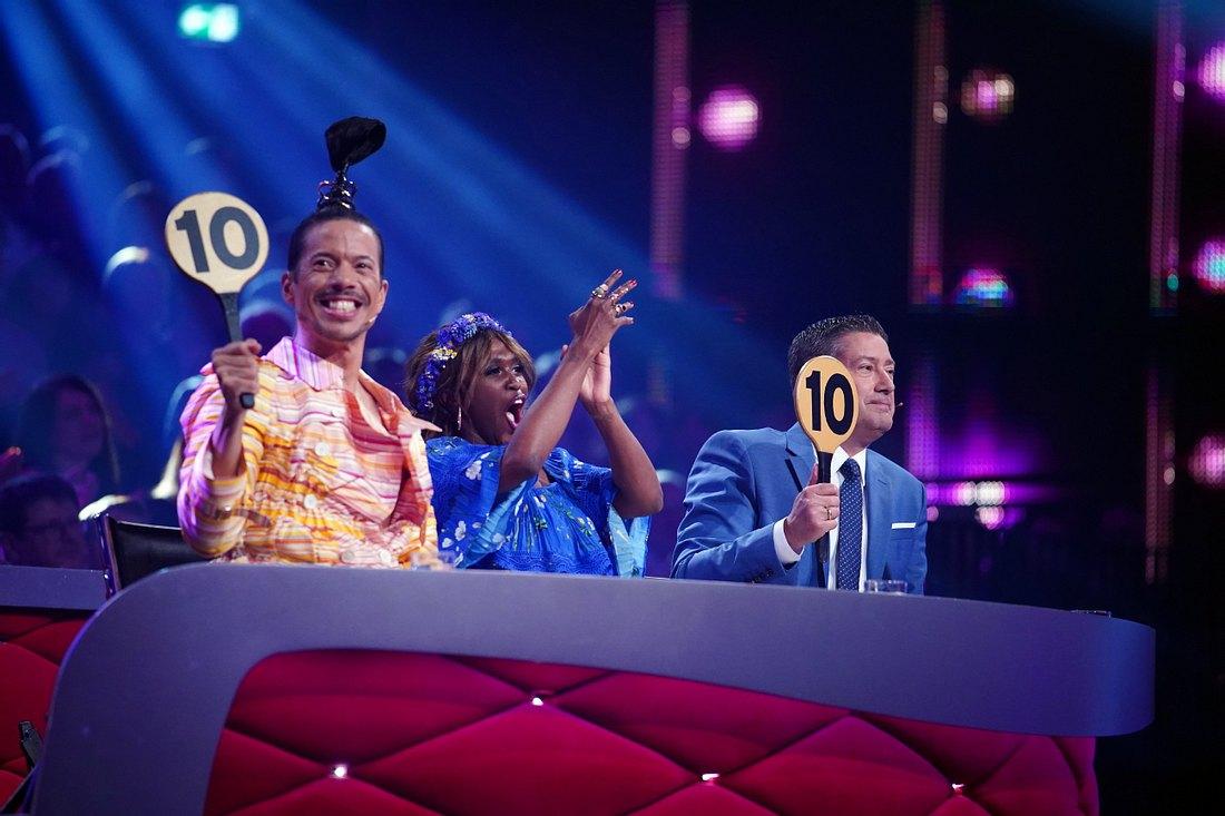 'Let's Dance' 2021 die Jury.