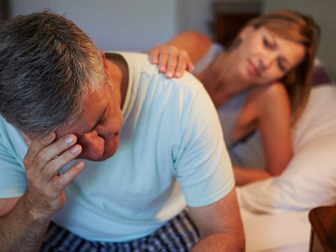 Für eine Partnerschaft ist es belastend, wenn sich sexuelle Unlust beim Mann bemerkbar macht.