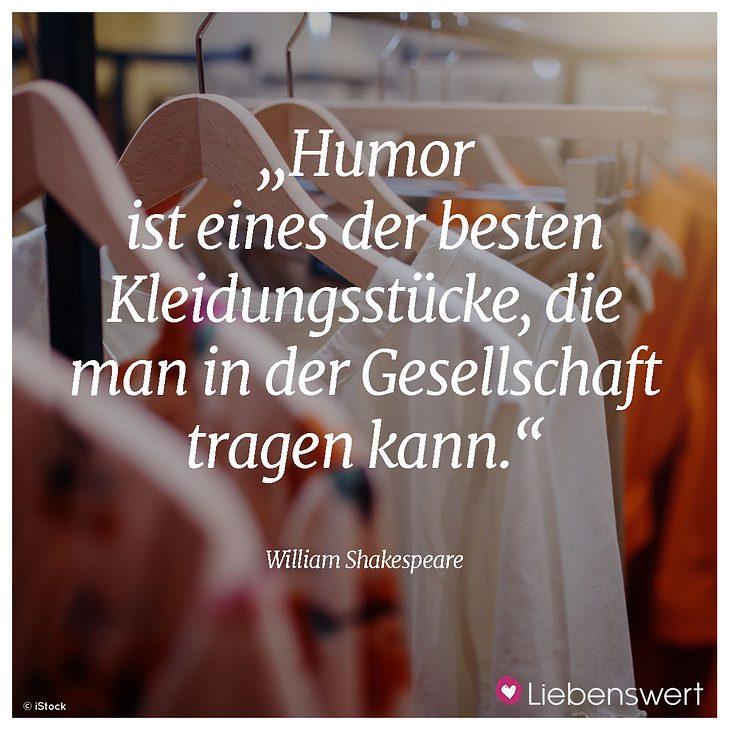 Humor macht das Leben leichter.